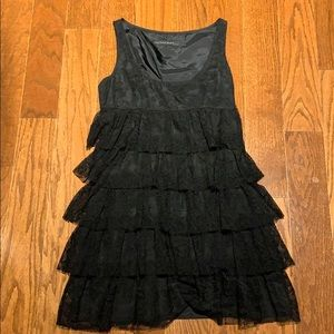 GUC Zara black lace dress